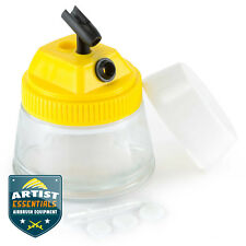 Airbrush Paint Cleaning Jar with Stand