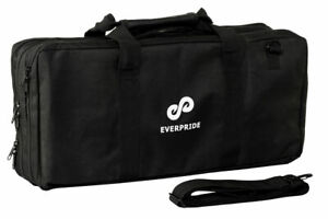 Chef Knife Bag (23 Slots) Holds 20 Knives PLUS Large Zipper for Kitchen Tools