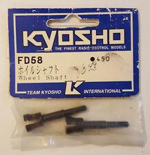 KYOSHO Wheel Shaft FD58 450 NEW RC Part Vintage Nitro Thrasher Porsche