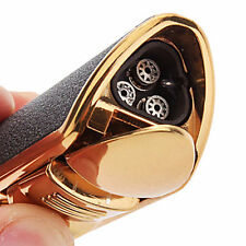 Windproof Classic Torch Triple Jet Flame Refillable Butane Cigar Torch Lighter