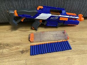 NERF N-STRIKE ELITE RapidStrike CS-18 Blaster Gun with 18 Dart Mag & Ammo