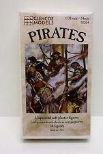 Glencoe Models 02204 - Pirates                           1:32 Plastic Figures