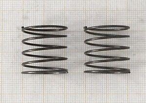 2 x Druckfeder, Länge 20mm - Außen Ø21mm - DrahtØ 1mm  (169)