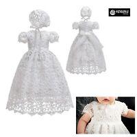 Vestito Bambina Neonata Abito Cerimonia Battesimo Newborn Princess Dress CHR004