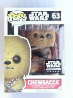 FUNKO POP VINYL STAR WARS | CHEWBACCA 63 | SMUGGLER'S BOUNTY with FREE PROTECTOR