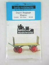 Banta Modelworks HO / OO Scale Model Kit Scenery Depot Baggage Wagon Sealed