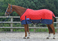 MAXIMA MEDIUM WEIGHT (200G) STABLE RUG - RED 3'0 - 7'0