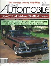 Collectible Automobile Magazine Month Year Vol 10 - No 2
