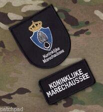 Royal Marshals Koninklijke Marechaussee KMar Bijstandseenheid Patch Netherlands