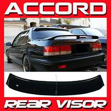 JDM 1990-1993 Honda Accord Sedan CB7 Rear Roof Window Visor Sun Deflector NEW!