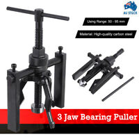 3-Jaw Pilot Inner Bearing Puller Tool Bushing Gear Extractor Motorcycle 50-95mm