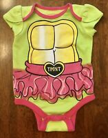 Nickelodeon Baby Girl Teenage Mutant Ninja Turtles TMNT Bodysuit - SIZE 0-3 MOS
