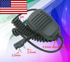 Hand Shoulder Mic Speaker for Kenwood Radio Tk2300 Tk3300 Tk-240D Tk-340D