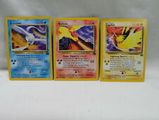 Pokemon Legendary Birds Articuno Moltres Zapdos Promo Cards Set of 3
