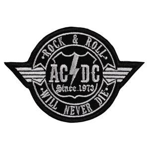 AC/DC Patch Hard Rock Heavy Metal Band Logo Rock'N'Roll