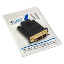 Adaptador DVI-D a HDMI NANOCABLE 10.15.0700 Negro 24+1/M-HDMI A/F