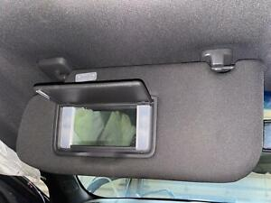 2013-2019 FORD TAURUS Left Driver Sun Visor Shade w/ Lamps & Mirror, BLACK CLOTH