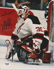 MARTIN BRODEUR Signed New Jersey DEVILS 8x10 PHOTO w/ PSA COA