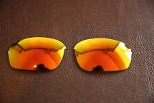 PolarLenz POLARIZED Fire Red Iridium Replacement Lens for-Oakley Half Wire 2.0