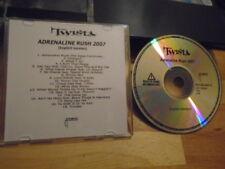 RARE ADV PROMO Twista CD Adrenaline Rush 2007 rap PHARRELL Bone Thugs-N-Harmony