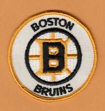OLD LOGO BOSTON BRUINS 3 inch STITCHED PATCH UNSOLD STOCK