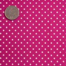 "Unbranded by the Metre Less than 45"" Spotted Craft Fabrics"