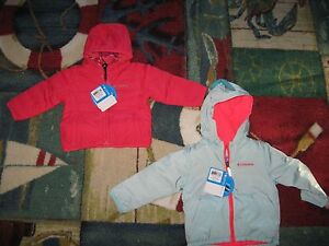 COLUMBIA Infant/Toddler Girl's  KITTERWIBBET or Berrey Ranch Fleece Jacket,NWT
