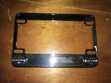 Harley License Plate Frame Softail FLH Superglide Chopper Bobber  #6361