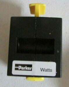 "Parker SV75-03 3/8"" Shut-Off Valve, 300PSI New in Box"