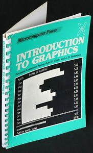 TRS-80 Introduction to Graphics, Spiral Bound Book