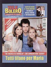 TELE BOLERO 18/2003 SIKABONYI COLOMBARI LAETITIA CASTA ACCORSI ROURKE JOLIE DUFF