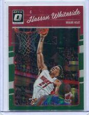 2016-17 Donruss Optic Hassan Whiteside Green Prizm SSP #'d 4/5 Miami Heat RARE