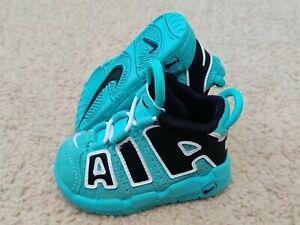 Nike Air More Uptempo TD Light Aqua CK0825-403 Size 4C
