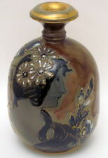 Antique HP RStK Reisner Teplitz Bohemia Czech Amphora Portrait Vase 1892-1905