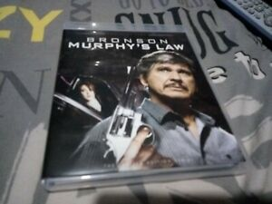 Murphy's Law twilight times Blu-ray CHARLES BRONSON/+BOOKLET/ oop vgc region 0
