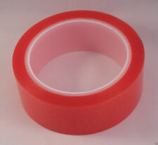 25 rolls 50mm x 5 metre acrylic clear double sided tape with red linner free P&P
