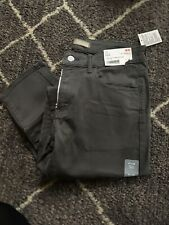 NWT Uniqlo Mens Slim Fit Tapered Color Jeans Gray  Size 31X34