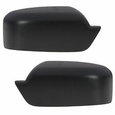 OEM NEW Front Right & Left Mirror Cover Cap Set (2) Black Fusion MKZ Milan