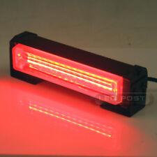 "Red 6"" 20W COB LED SIG Hazard Warning Emergency Roof Light Bar Mount"