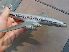 ORIGINAL VINTAGE EASTERN AIRLINES LOCKHEED CONNIE DESK MODEL FOR PARTS OR REPAIR