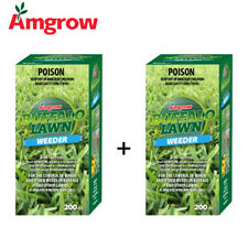 Amgrow Buffalo Lawn Herbicide (2x200ml Bottles Included) [80060]