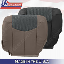 2002 Chevy Avalanche 1500 2500 LT LS Z71 Lower Bottom Leather Cloth Seat cover
