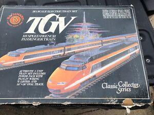 Unused BACHMANN HO TGV HI-SPEED FRENCH PASSENGER TRAIN #40-0150 COLLECTOR SERIES