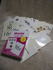 TREND ENTERPRISES MATCH ME CARDS MONEY-52 TWO-SIDED CARDS/BOX AGES 6 & UP