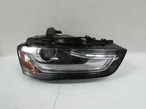 2013-2016 AUDI A4 S4 OEM RIGHT XENON HID HEADLIGHT WITH SELF ADJUSTING T9