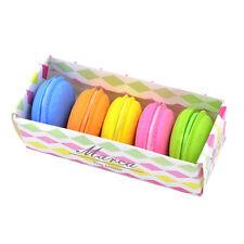 5 Stücke Mode Nette Macarons Farben Gummi Radiergummi Süße Briefpapier Set AA