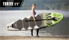"Aqua Marina Thrive 9'9"" BT-17TH Inflatable surf board surfboard with pedal ISUP"