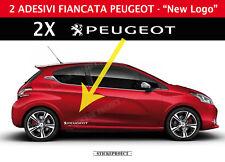 Adesivi Fiancate PEUGEOT 206 - 207 - 208 - 307 - 308 - 108 GTi stickers