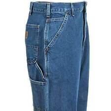 carhartt original fit signature denim dungaree jeans 36x32