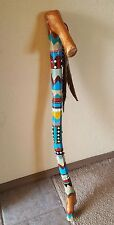 Decorated Walking Stick / Cane Decor Native American Inspired